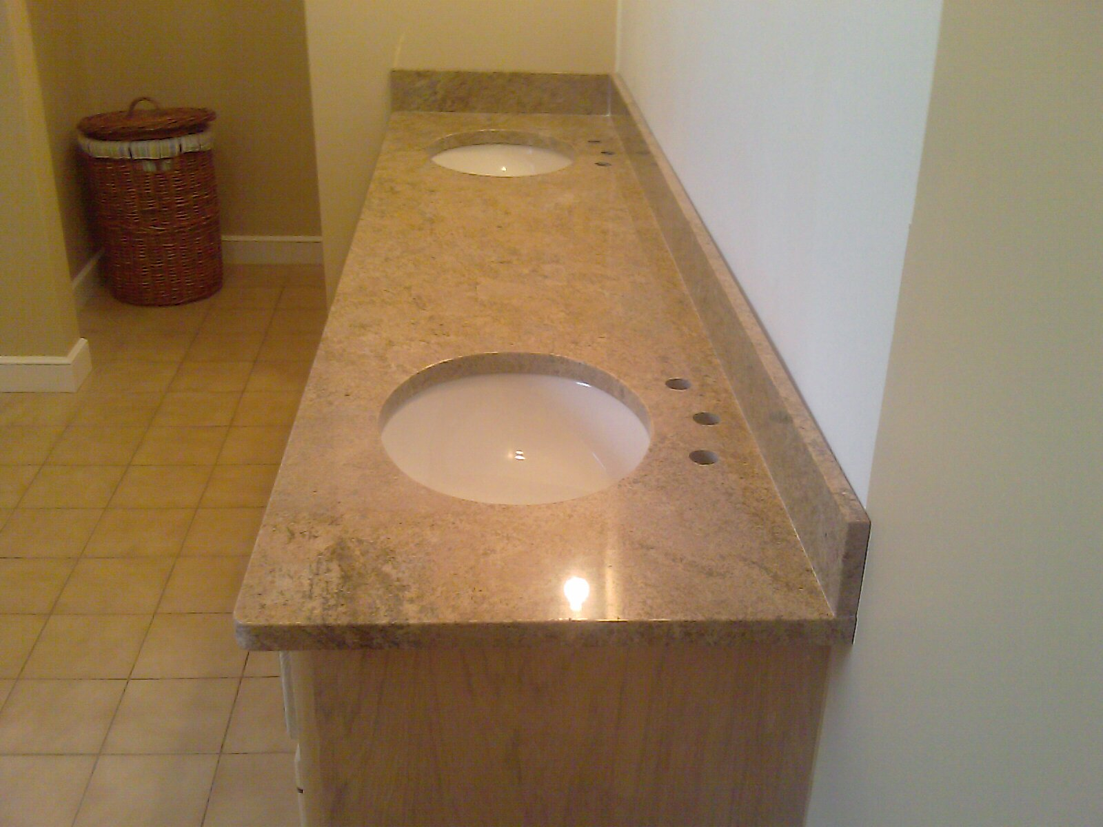 top vanity dark new countertops bathroom installing